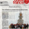 « La Libération du territoire et le retour à la République » en Bretagne dans Ouest-France