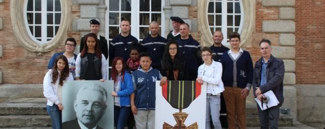 Les collégiens de Louise Michel organisent la cérémonie du 8 mai à Alençon