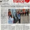 La cérémonie organisée et animée par les élèves dans Ouest-France