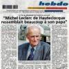 Hommage à Michel Leclerc de Hautecloque dans l'Orne Hebdo