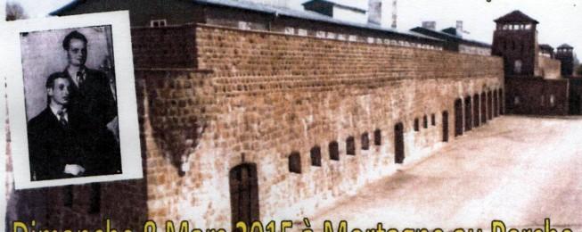 8 mars 2015 – 70ème anniversaire de la Libération des camps nazis – Mortagne au Perche