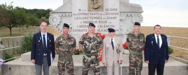 Programme et photos de la Route Leclerc 2015 du 11 au 18 août 2015 – 71ème anniversaire de la Libération
