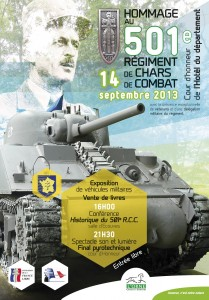 Affiche Hommage 501e 2013 new