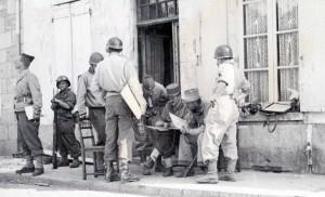 PC de Leclerc Alençon 12 août 1944
