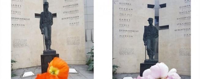 Article Orne Hebdo 11 novembre «une fleur pour nos monuments aux morts»